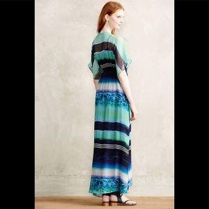 Cynthia Vincent maxi kimono dress